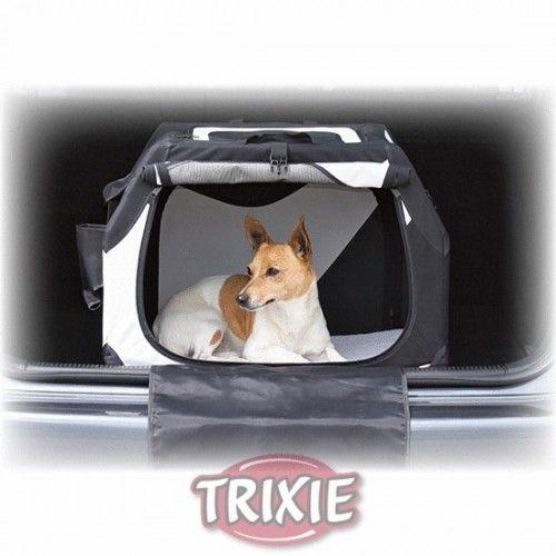 Trixie jaula nylon plegable coche 61x43x46 cm