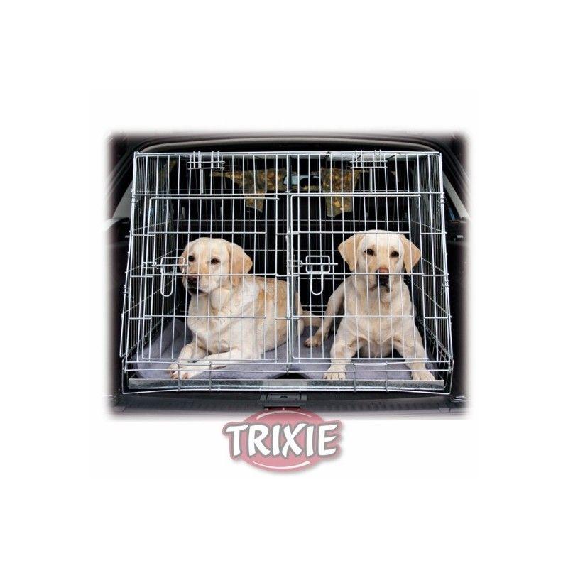 Trixie jaula transporte zincada, doble, 93x68x79 cm