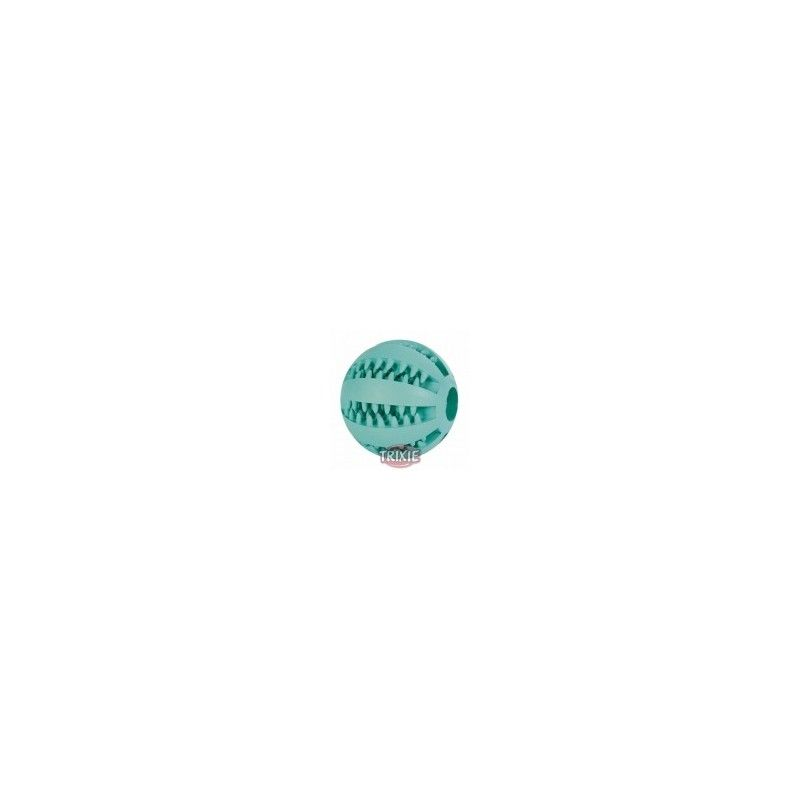Trixie Dentafun pelota mentolada caucho natural, 5 cm