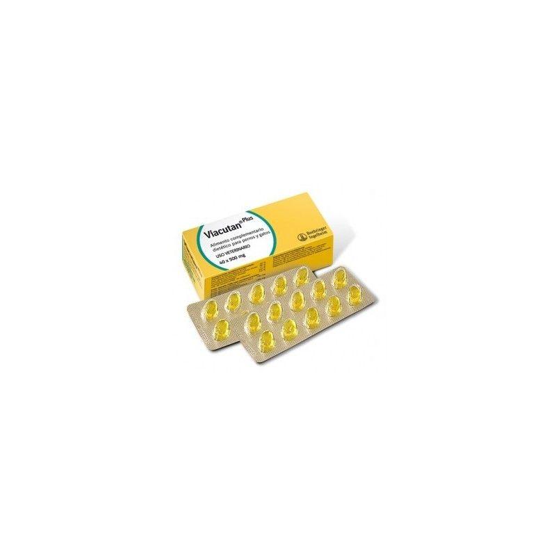 Boehringer Viacutan Plus 40 Cápsulas 550 mg