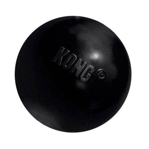 Kong extreme ball juguete, negro, 1u, tamaño m/l