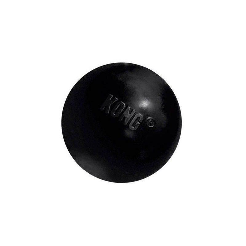 Kong extreme ball juguete, negro, 1u, tamaño s