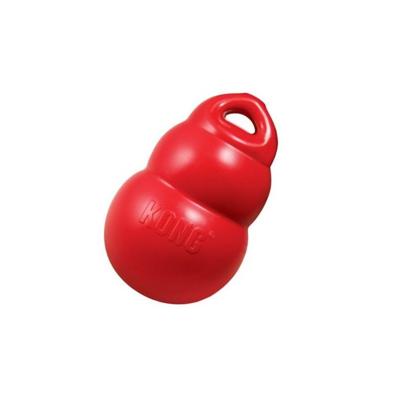 Kong original juguete mordedor classic rojo, tamaño xs