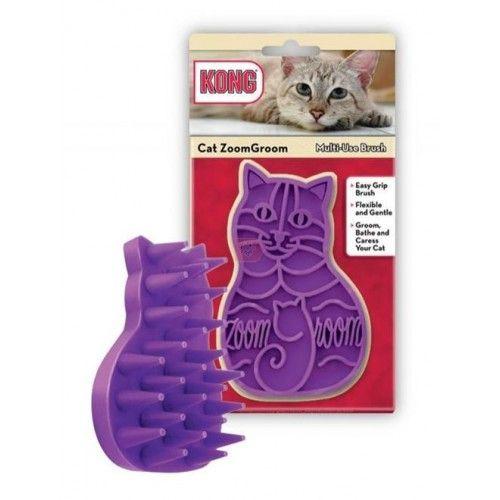 Kong peine para cuidado de la piel gato
