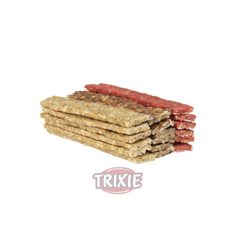 Trixie 100 Tiras Munchy, Colores Surtidos, 12 cm