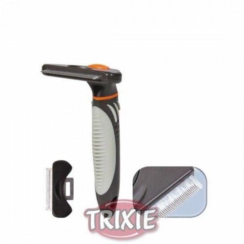 Trixie carda extra elimina pelo muerto, 7x15 cm