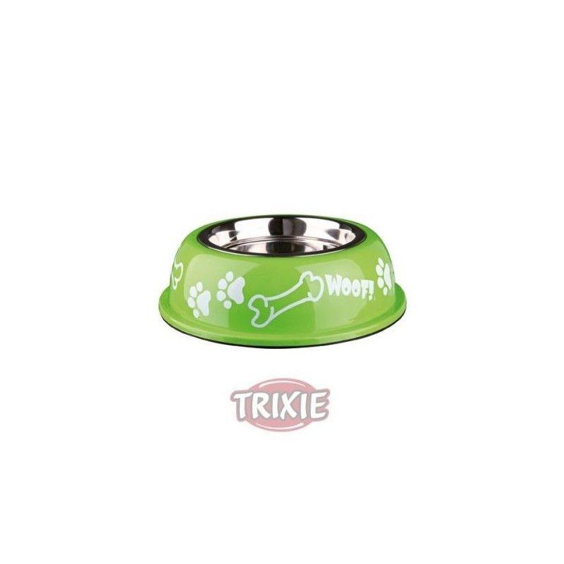 Comedero Inox-Plast.Antides,0.9 l,ø16cm