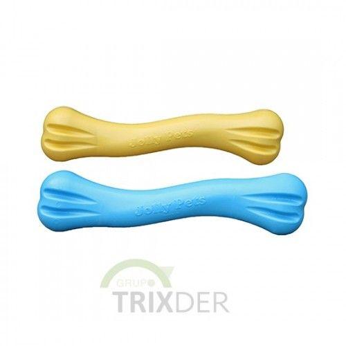 Hueso Mordedor TPE Jolly,Azul, S, 16cm