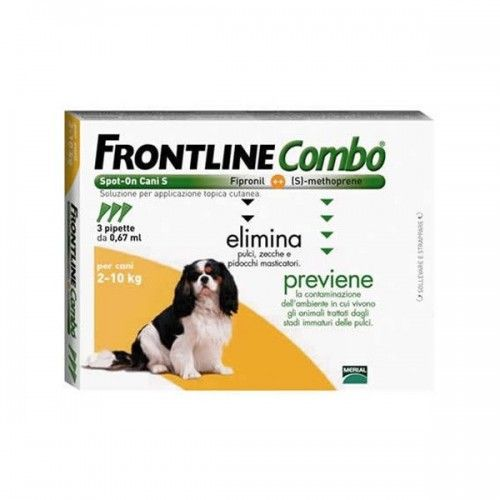 Frontline combo spot on perros 2-10 kg 3 pipetas