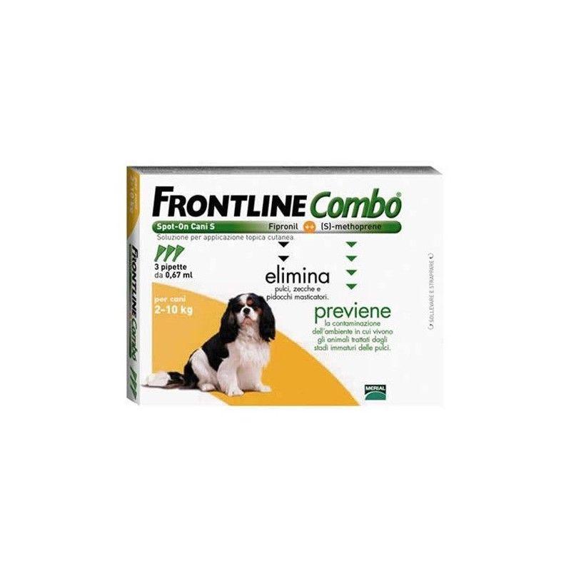 Frontline combo spot on perros 2-10 kg 6 pipetas