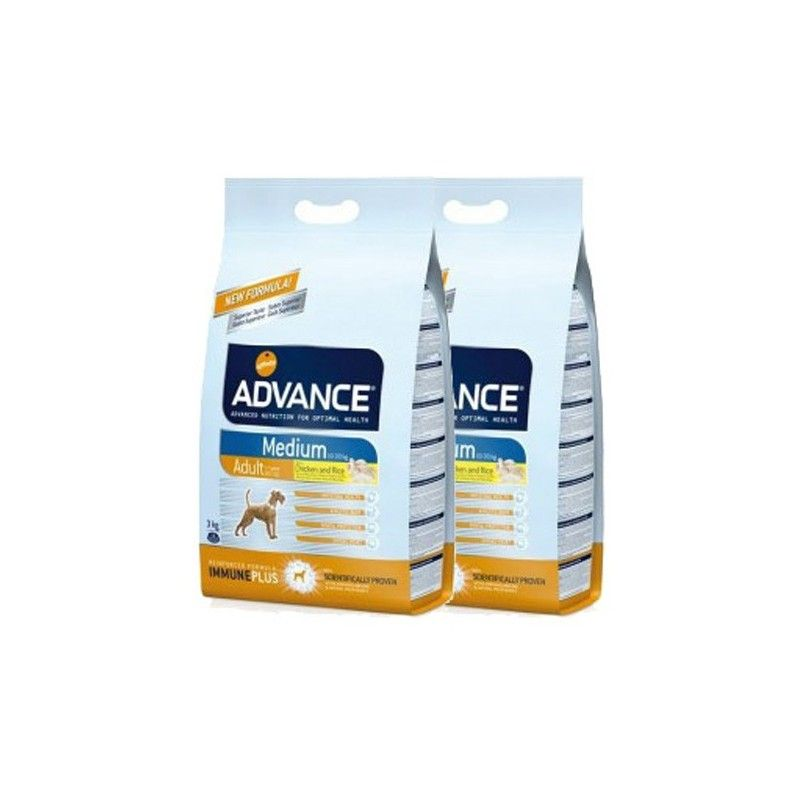 Advance maxi adult chicken&rice pack2 36 kg