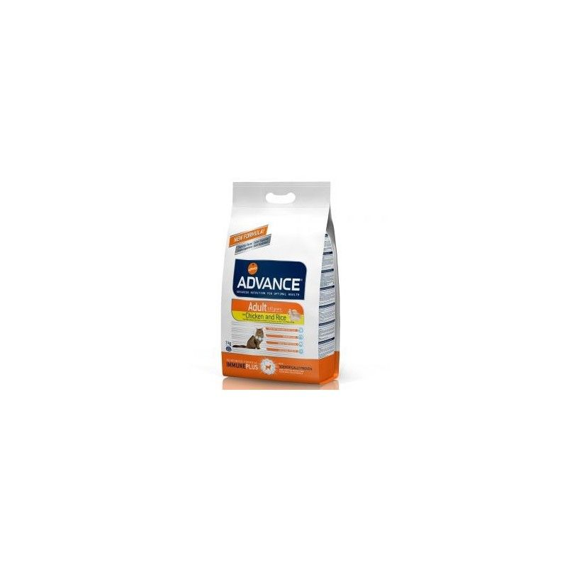 Advance cat adult chicken & rice 3 kg