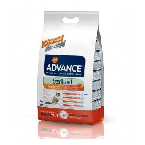 Advance cat sterilized salmón 3 Kg