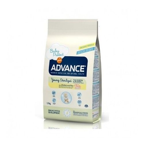 Advance cat young sterilized 1,5 Kg