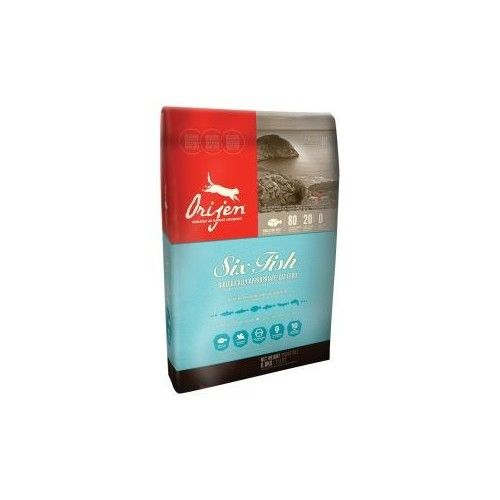 Orijen Dry Cat & Kitten 6 Fish 5,4 kg