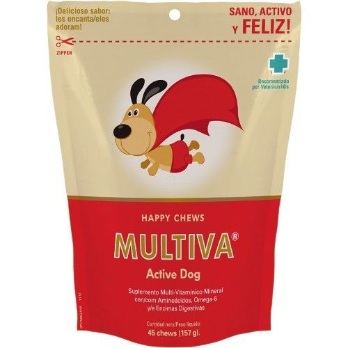 Multiva active perros 45 chews