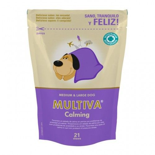 Vetnova Multiva calming perros medium-large 21 chews
