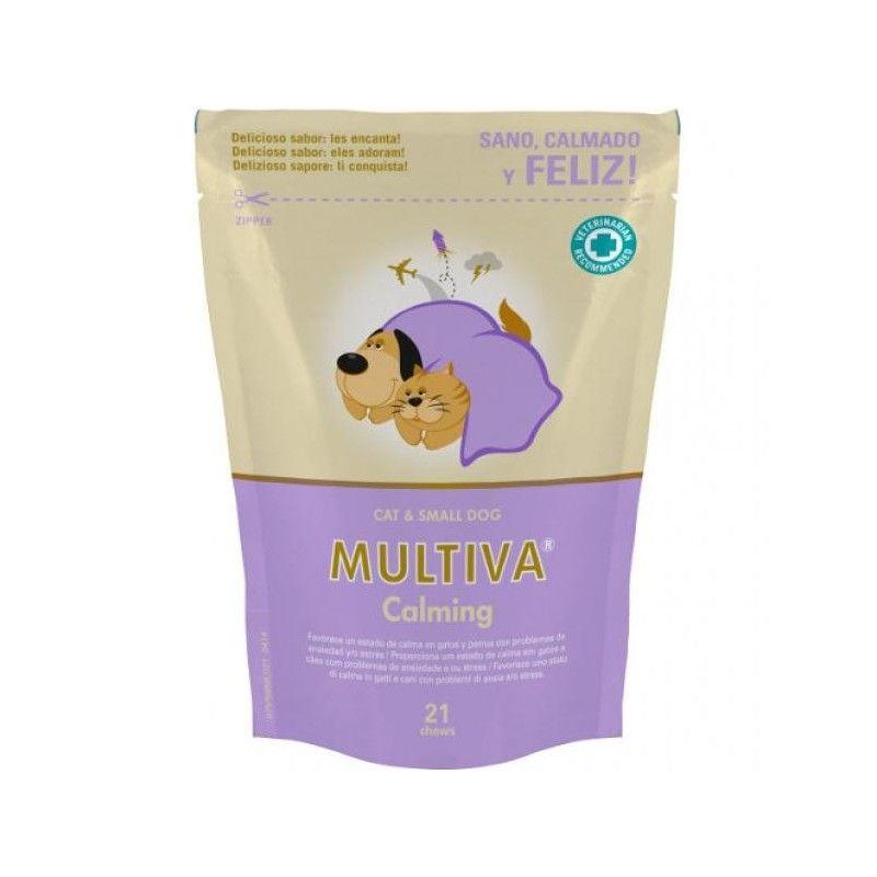 Vetnova Multiva calming gatos y perro pequeño 21 chews