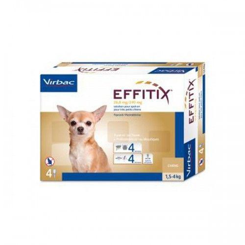 Effitix perro 1,5-4kg 1 pipeta