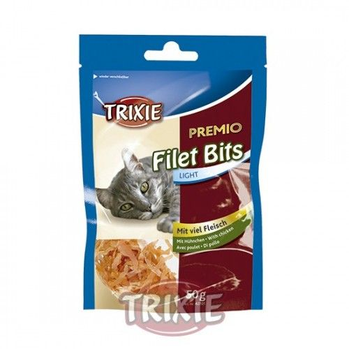 Premio Light Filet Bits, Pollo, 50 g