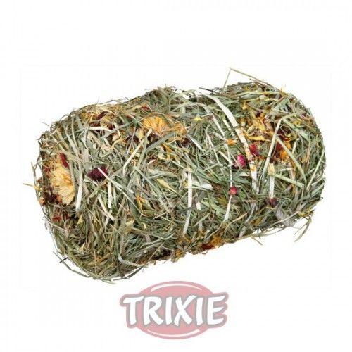 Trixie PortaHeno con Heno y Aros de semilla, 17×20×17 cm