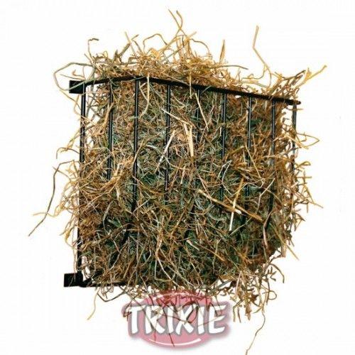 Trixie Porta Verduras Metal, Galvanizado, 22x16x6 cm