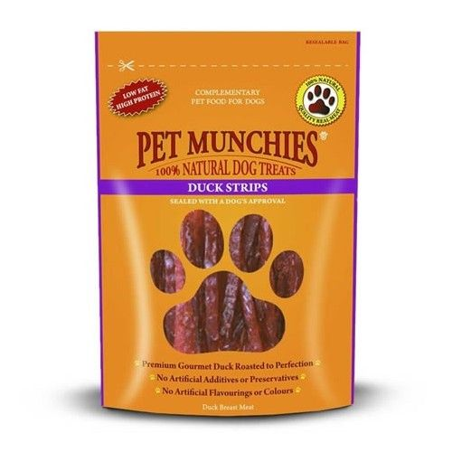 Pet Munchies Tiritas Pato
