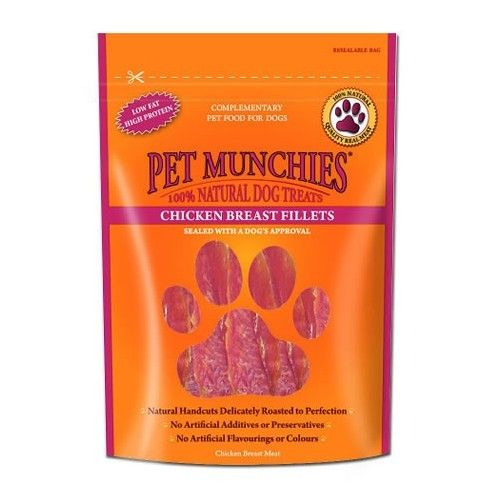 Pet Munchies Filetes Pechuga Pollo
