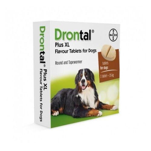 Drontal plus sabor perros grandes 1 comprimido