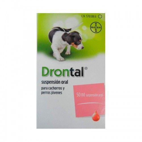 Drontal suspensión oral cachorros 50 ml
