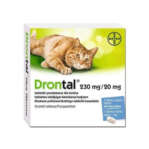 Drontal gatos elipsoide 20 comprimido