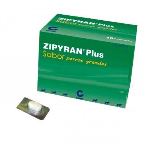 Zipyran plus sabor perros grandes 1 comprimidos