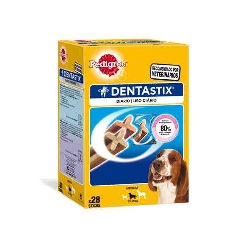 Pedigree Dentastix para perros medianos - Pack mensual 28 unidades