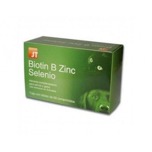 JtPharma Biotin B Zinc Selenio 60 Comprimidos