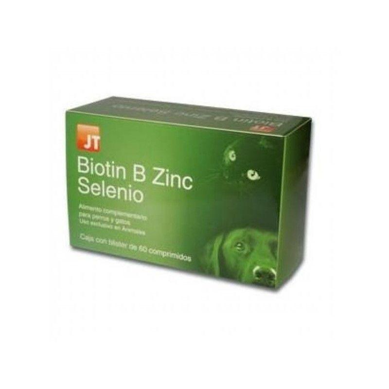 JT Biotin B Zinc Selenio 60 Comprimidos