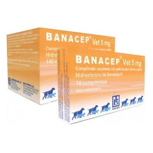 Banacep 5 mg 14 Comprimidos
