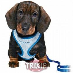 Trixie Set Cachorros Acolchado, 26-34cm/10mm, 2m, Azul