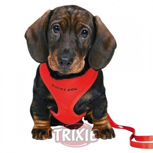 Trixie Set Cachorros Acolchado, 26-34cm/10mm, 2m, Rojo