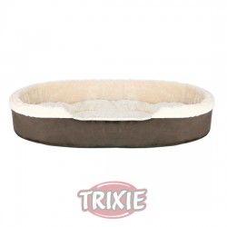 Trixie Cama Cosma, 100×75 cm, Marrón osc/Beige