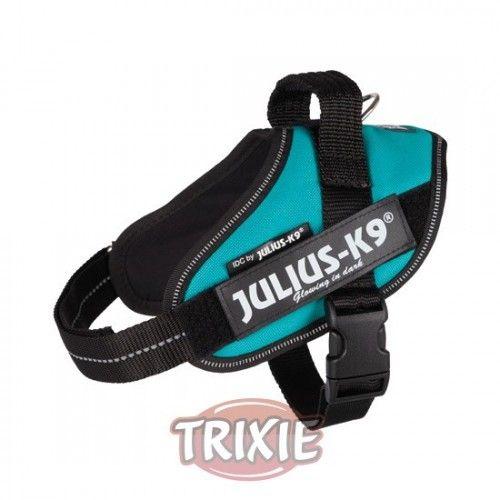 Trixie Arnés Julius-K9 IDC, Mini-Mini/S: 40–53cm, Petról