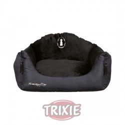 Trixie Cama King of Dogs, 42×31 cm, Negro