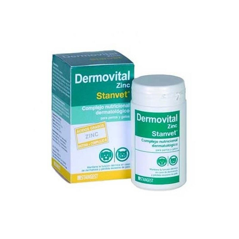 Stanvet Dermovital Zinc 60 comprimidos