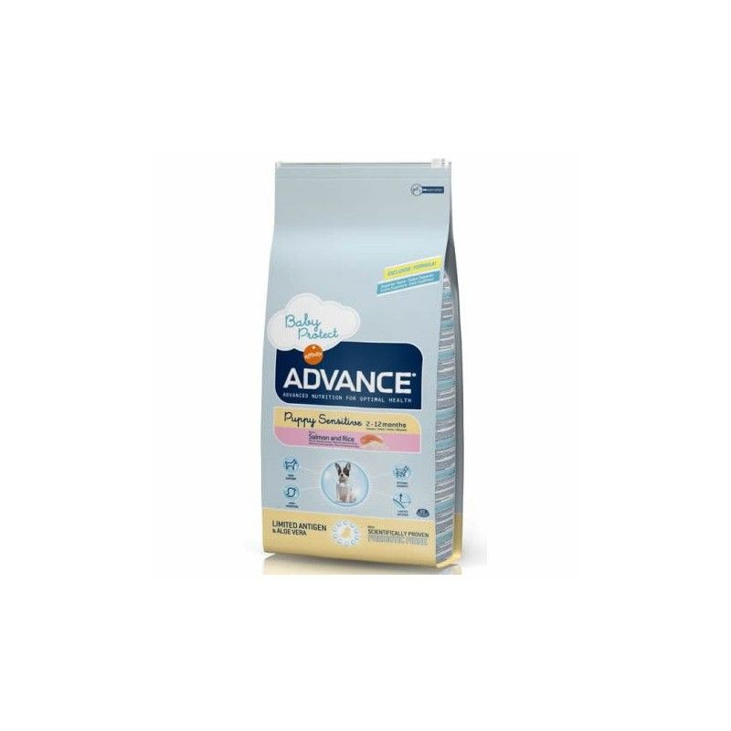 Advance puppy sensitive salmon y arroz 12 Kg