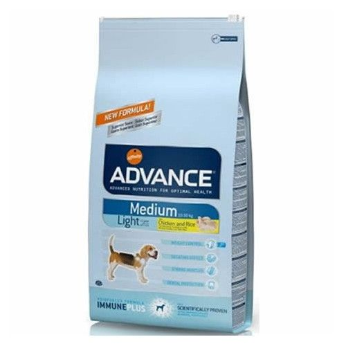 Advance adult medium light pollo y arroz 12 Kg