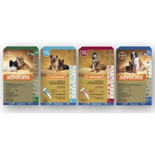 Bayer Advocate 3 Pipetas para Perros +25kg