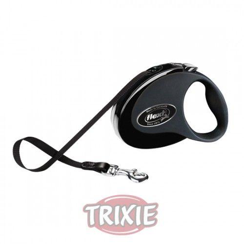 Trixie flexi COLLECTION, S, 3 m, Negro