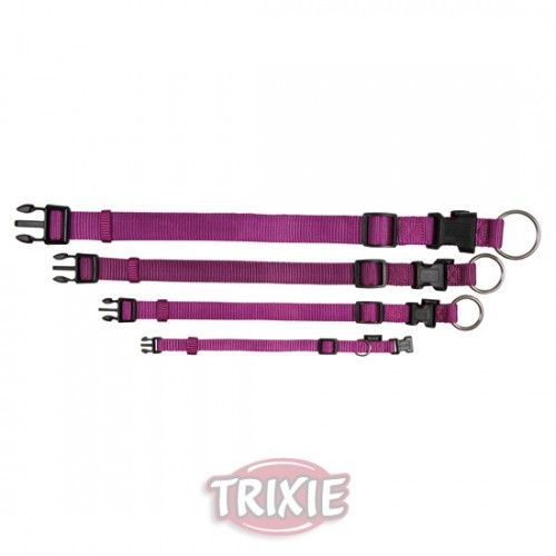 Trixie Collar Premium, XS-S, 22-35cm/10mm, Morado