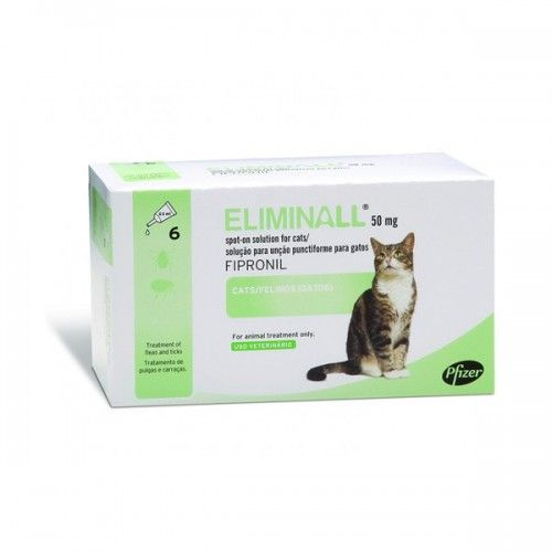 Merial Eliminall gatos 3 pipetas