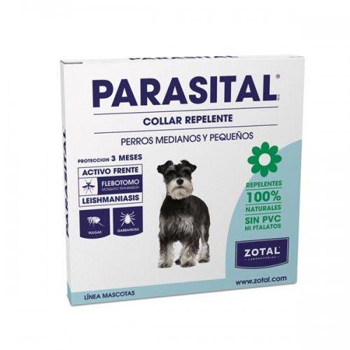 Parasital collar repelente antiparasitario 58 cm