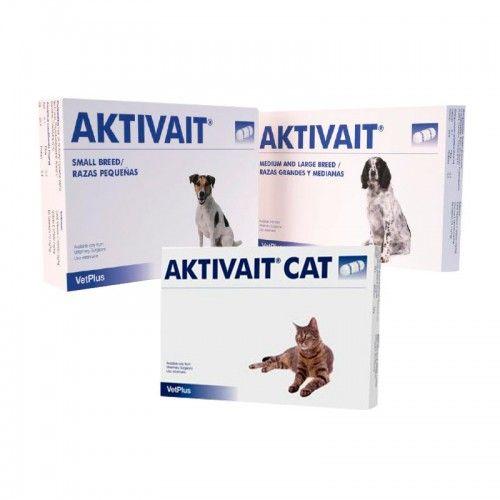 Vetplus Aktivait para perros medianos y grandes 60 capsulas